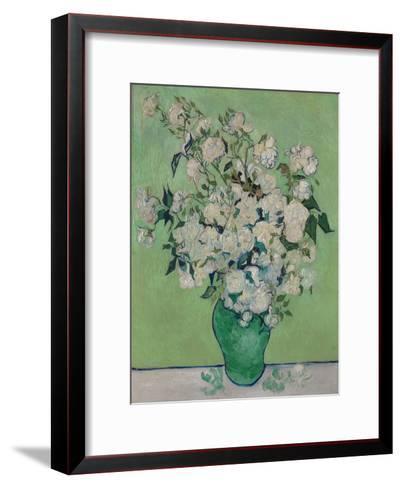 A Vase of Roses, 1890-Vincent van Gogh-Framed Art Print