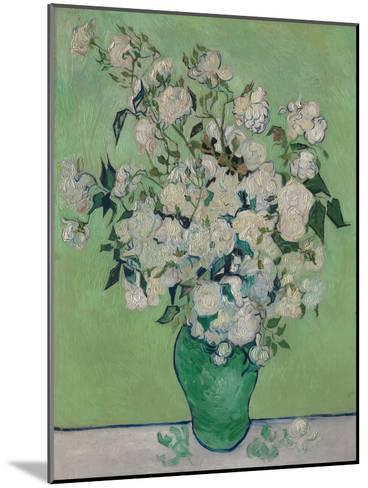 A Vase of Roses, 1890-Vincent van Gogh-Mounted Giclee Print