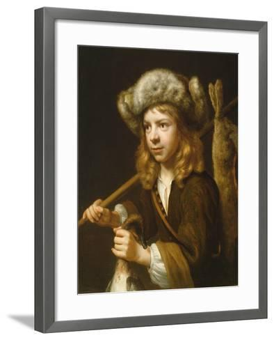 Portrait of a Young Sportsman-Wallerant Vaillant-Framed Art Print