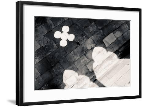 Light in the Cloister, from the series, Cloister, 2015-Joy Lions-Framed Art Print