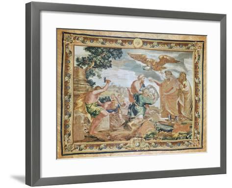 The Founding of Constantinople-Peter Paul Rubens-Framed Art Print