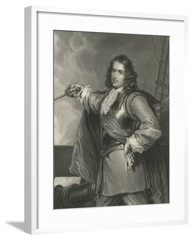 Admiral Blake-Henry Perronet Briggs-Framed Art Print