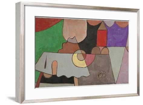 Castle Corner (Burgwinkel), 1932-Paul Klee-Framed Art Print