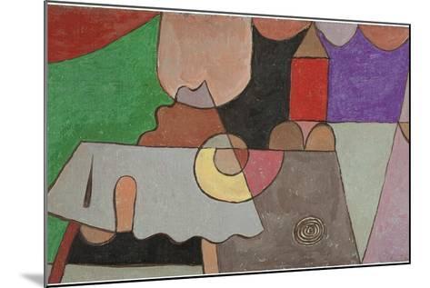 Castle Corner (Burgwinkel), 1932-Paul Klee-Mounted Giclee Print