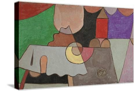 Castle Corner (Burgwinkel), 1932-Paul Klee-Stretched Canvas Print