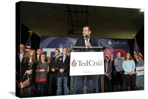 GOP 2016 Cruz-John Locher-Stretched Canvas Print
