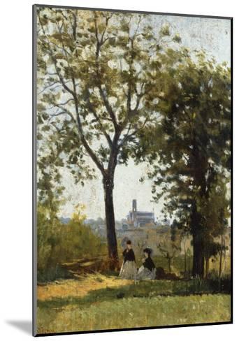 Monte Alle Croci (Hill of San Miniato), C. 1870-Silvestro Lega-Mounted Giclee Print