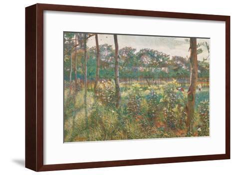 Lombard Countryside, 1908-Umberto Boccioni-Framed Art Print