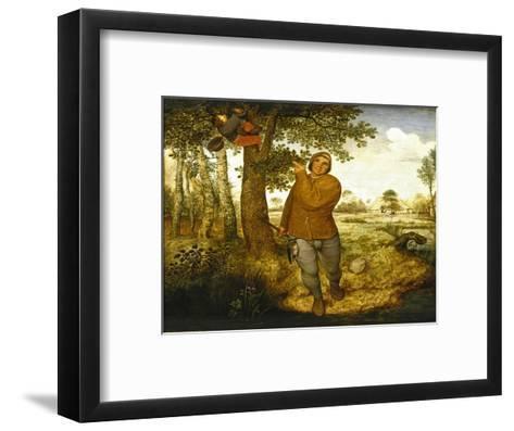 Peasant and the Nest Robber-Pieter Bruegel the Elder-Framed Art Print