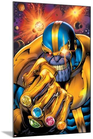Avengers Assemble No. 7: Thanos--Mounted Poster