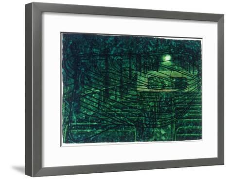 Trip-The Green Room-Graham Dean-Framed Art Print