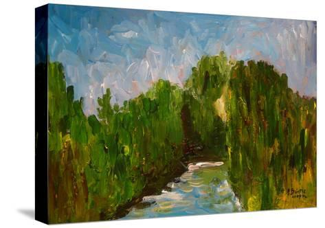 Winding River, 2009-Patricia Brintle-Stretched Canvas Print