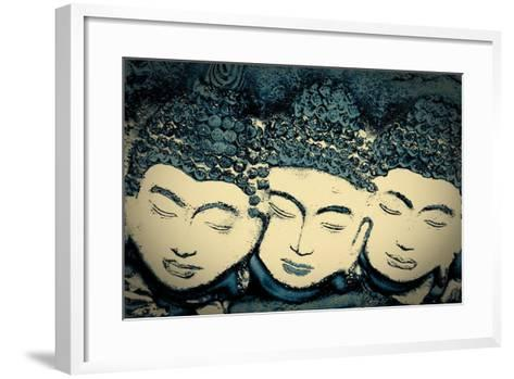 Three Believers, 2016-Joy Lions-Framed Art Print