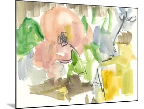 Whimsy in the Garden II-Jennifer Goldberger-Mounted Art Print