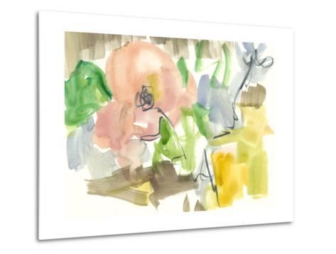Whimsy in the Garden II-Jennifer Goldberger-Metal Print