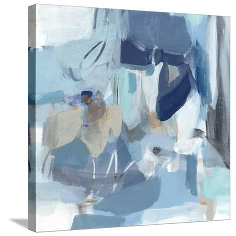 Blue Monday-Christina Long-Stretched Canvas Print