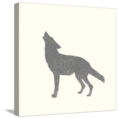 Timber Animals IV-Anna Hambly-Stretched Canvas Print