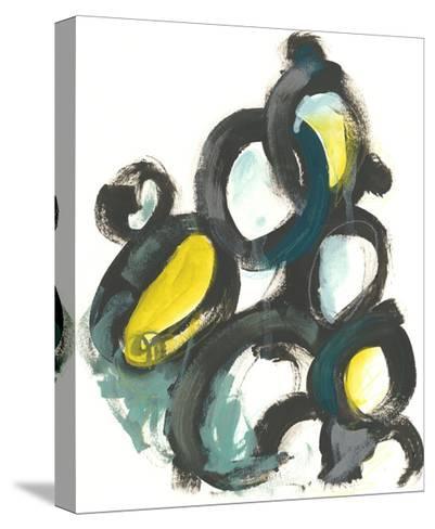 Linked Ovals I-June Vess-Stretched Canvas Print