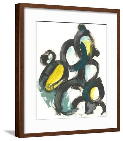 Linked Ovals I-June Vess-Framed Art Print