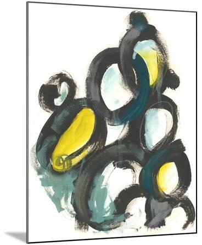 Linked Ovals I-June Vess-Mounted Art Print