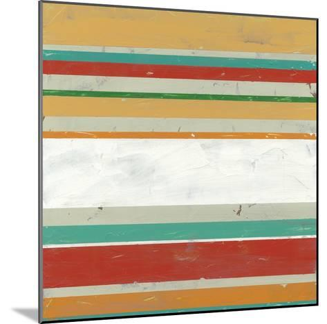 Serape II-June Vess-Mounted Art Print