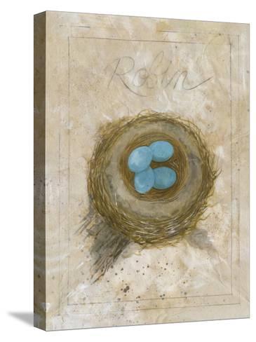 Nest - Robin-Elissa Della-piana-Stretched Canvas Print