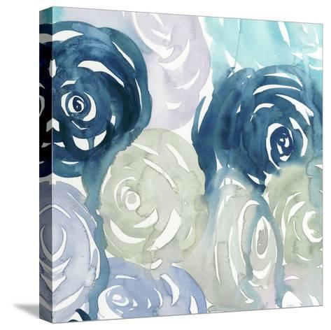 Watercolor Crush I-Grace Popp-Stretched Canvas Print