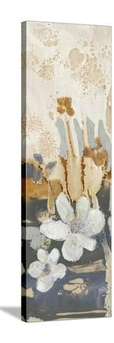 Drippy Flower Abstract I-Jennifer Goldberger-Stretched Canvas Print