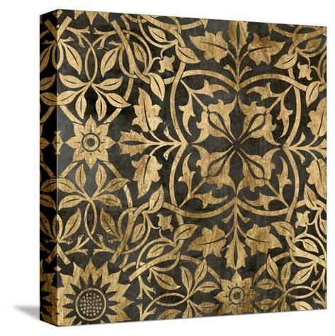 Golden Damask I-Jennifer Goldberger-Stretched Canvas Print