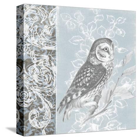 Owl Filigree II-Studio W-Stretched Canvas Print