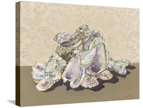 Shell Collection II-Dianne Miller-Stretched Canvas Print