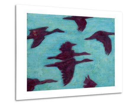 Flying Silhouettes II-Mehmet Altug-Metal Print