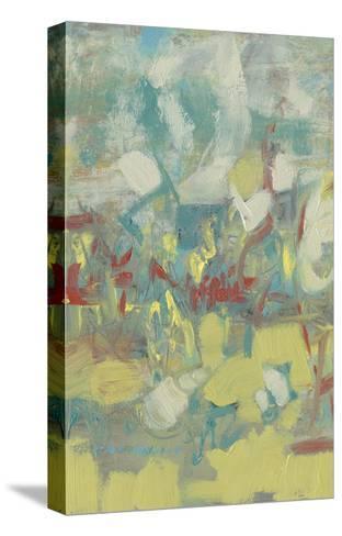 Graffiti Abstract I-Jennifer Goldberger-Stretched Canvas Print