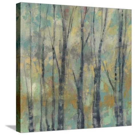 Pastel Arbor I-Jennifer Goldberger-Stretched Canvas Print