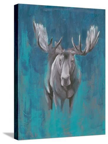 Contemporary Cervidae I-Grace Popp-Stretched Canvas Print