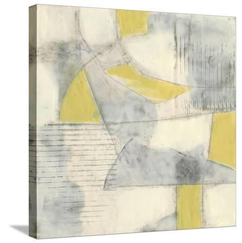 Thin Grey Lines II-Jennifer Goldberger-Stretched Canvas Print