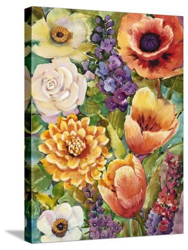 Flower Bouquet II-Tim OToole-Stretched Canvas Print