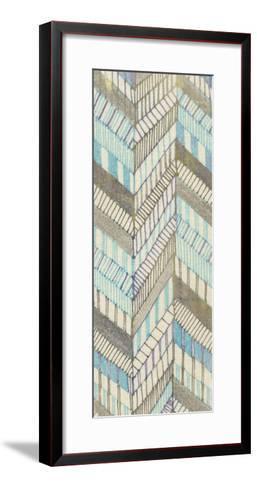 Sketched Chevron II-Nikki Galapon-Framed Art Print