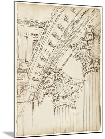 Architects Sketchbook IV-Ethan Harper-Mounted Art Print