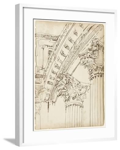Architects Sketchbook IV-Ethan Harper-Framed Art Print