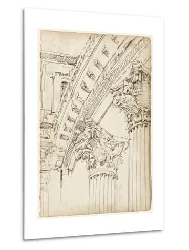 Architects Sketchbook IV-Ethan Harper-Metal Print