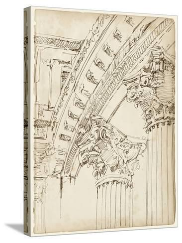 Architects Sketchbook IV-Ethan Harper-Stretched Canvas Print