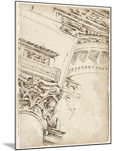 Architects Sketchbook II-Ethan Harper-Mounted Art Print