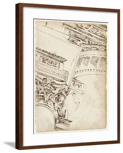 Architects Sketchbook II-Ethan Harper-Framed Art Print