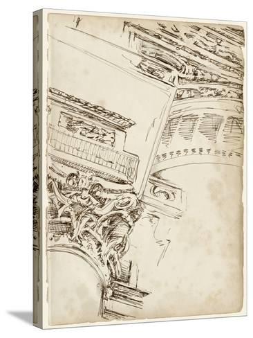 Architects Sketchbook II-Ethan Harper-Stretched Canvas Print