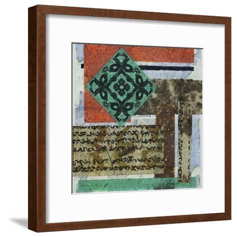 Terra Assemblage II-Heidi Coleman-Framed Art Print