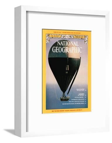 Cover of the February, 1977 National Geographic Magazine-Otis Imboden-Framed Art Print