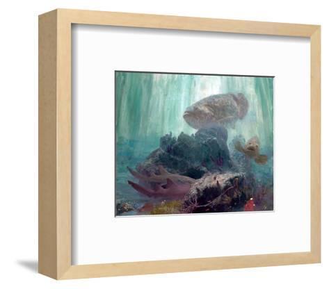 The Lord of Barcajon Channel, 2005-Stanley Meltzoff-Framed Art Print