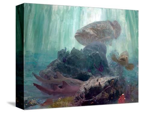 The Lord of Barcajon Channel, 2005-Stanley Meltzoff-Stretched Canvas Print