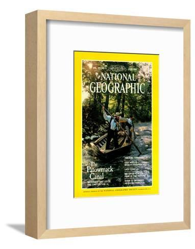 Cover of the June, 1987 National Geographic Magazine-Kenneth Garrett-Framed Art Print